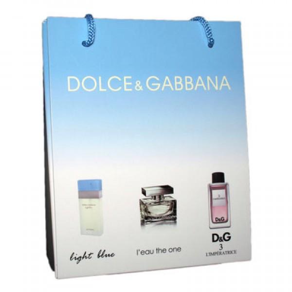 Набор Dolce&Gabbana 3 по 15 мл женский