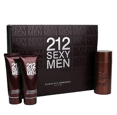 Большой набор Carolina Herrera 212 Sexy Men 3 в 1 набор