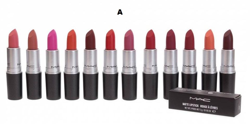 Помада Mac Matte Lipstick Rouge A Levres палитра 12 штук
