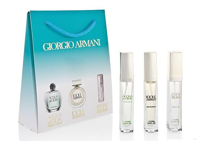 Набор Giorgio Armani 3 по 15 мл женский