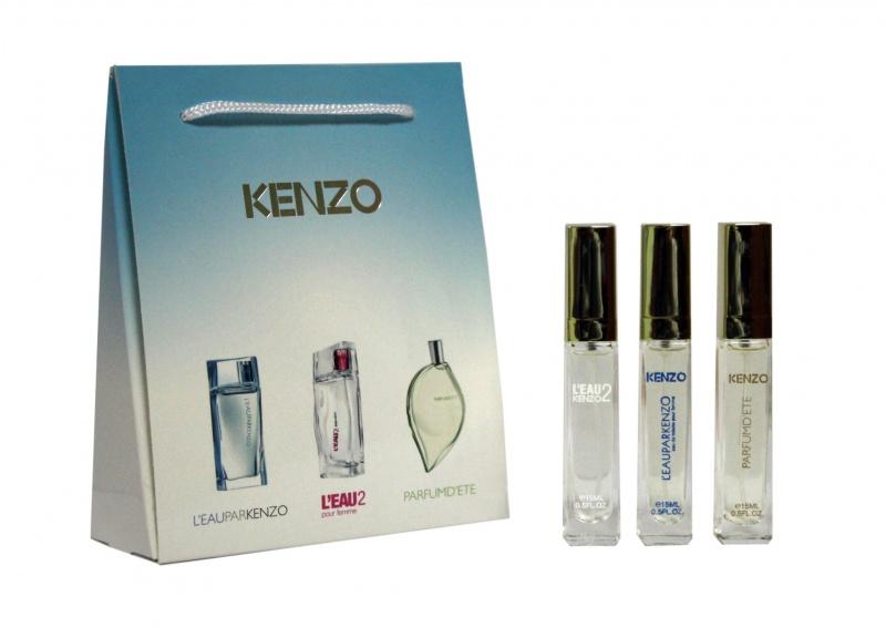 Набор Kenzo 3 по 15 мл женский