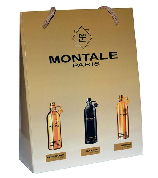 Набор Montale 3 по 15 мл (Aoud Queen Roses, Black Aoud, Pure Gold)
