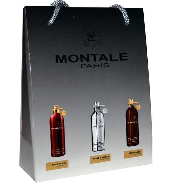 Набор Montale 3 по 15 мл (Red Vetiver, Wood & Spices, Aoud Forest)