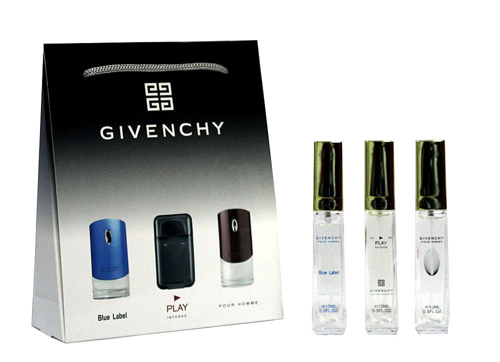 Набор Givenchy 3 по 15 мл мужской