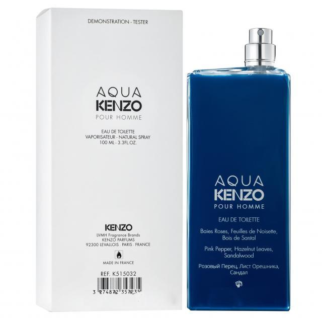 Kenzo Aqua pour homme TESTER