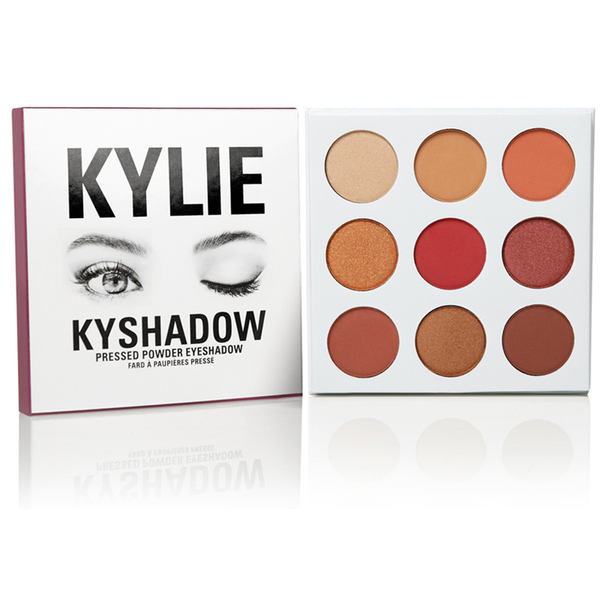 Тени Kylie Cosmetics Kyshadow Pressed Powder Eueshadow The Burgundy Collection