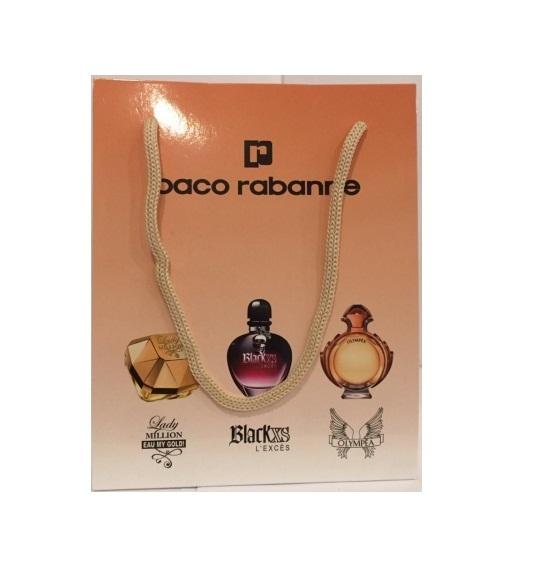Набор женский Paco Rabanne 3 по 15 мл
