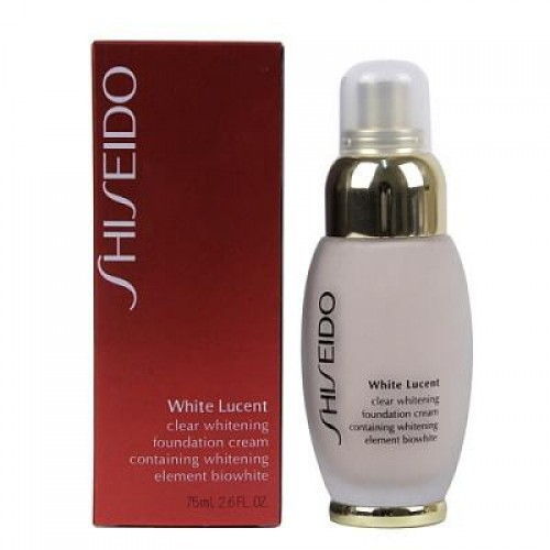 Тональный крем Shiseido White lucent Clear Whitening Foundation Cream 75 ml