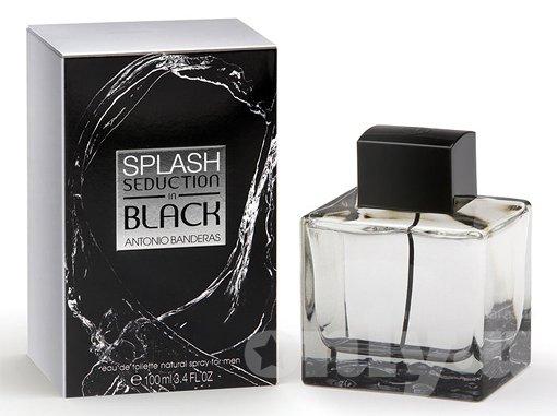 Antonio Banderas Splash Seduction In Black